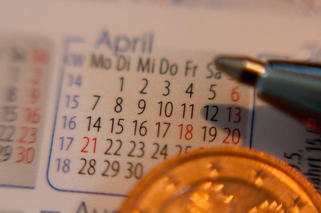 bail date calendar