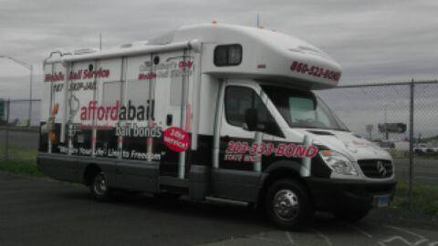 glastonbury bail bonds bus