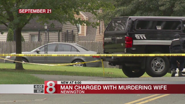 Newington Local Charged with Wife's Murder