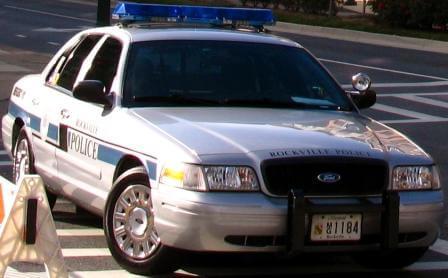 Rockville police car