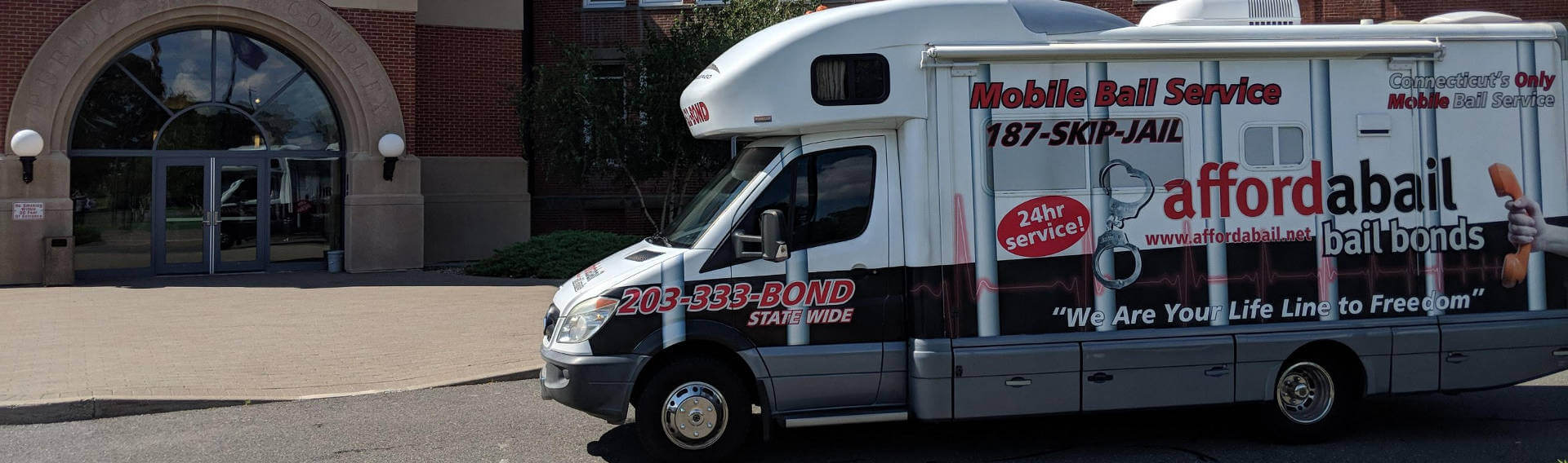 Mobile bail bonds service in East Hartford, CT