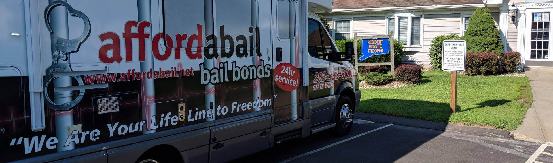 Mobile bail bonds service in Ellington, CT