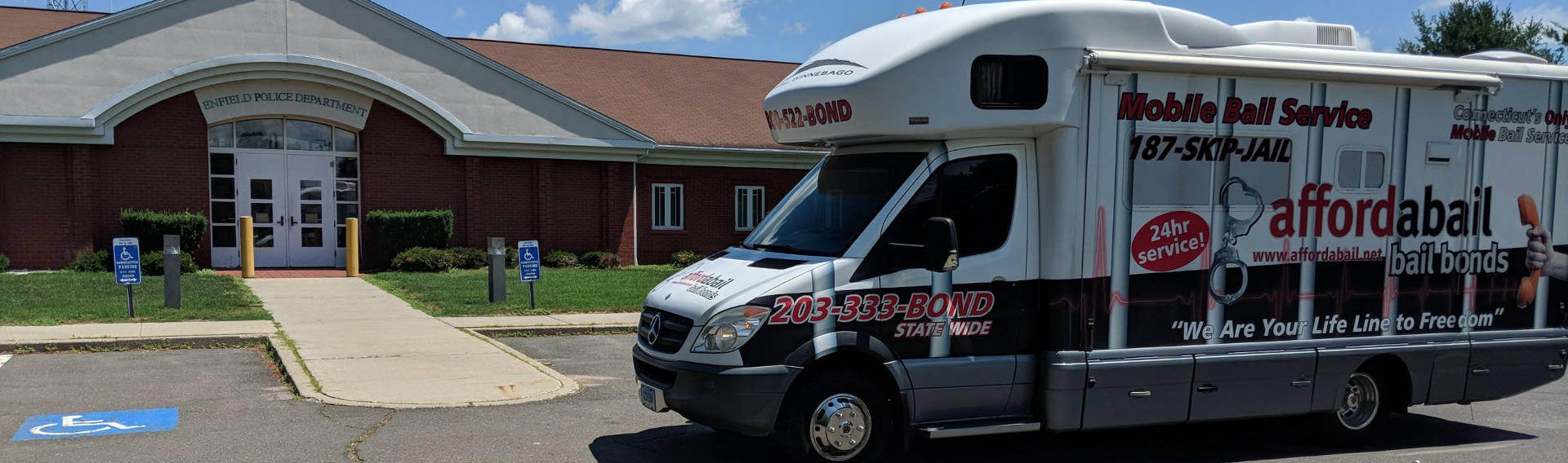 Mobile bail bonds service in Enfield, CT