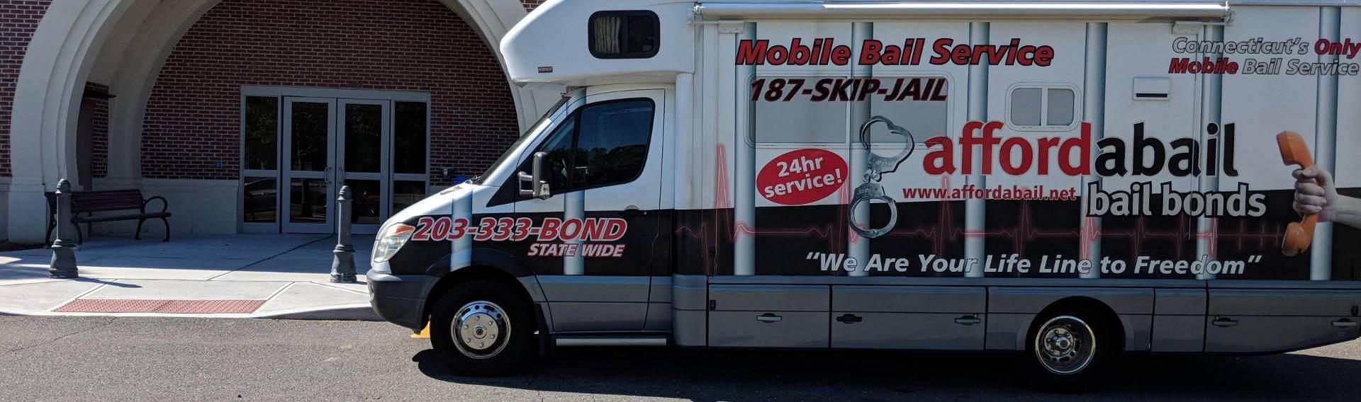 Mobile bail bonds service in Farmington, CT