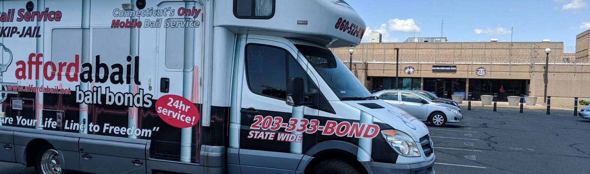 Mobile bail bonds service in Hartford, CT