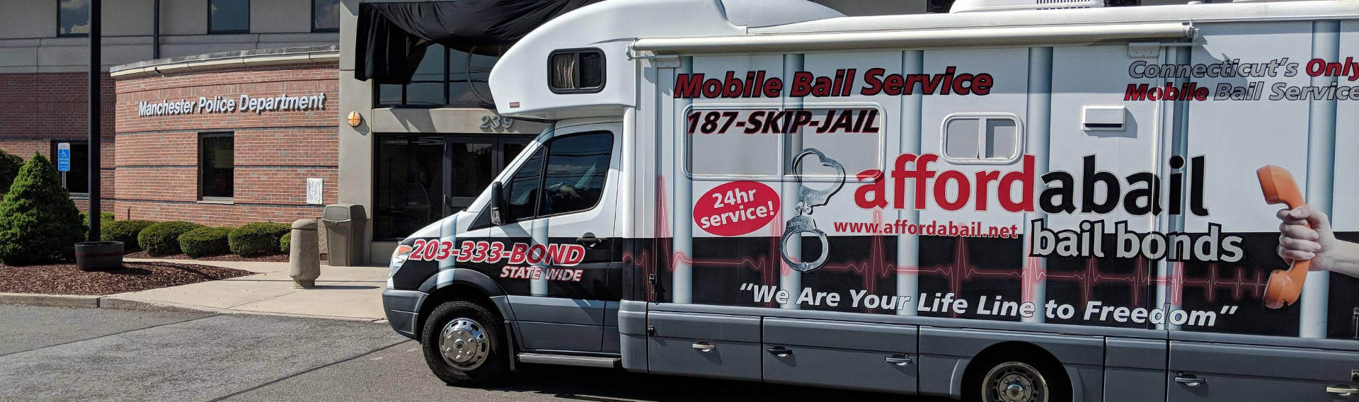 Mobile bail bonds service in Manchester, CT