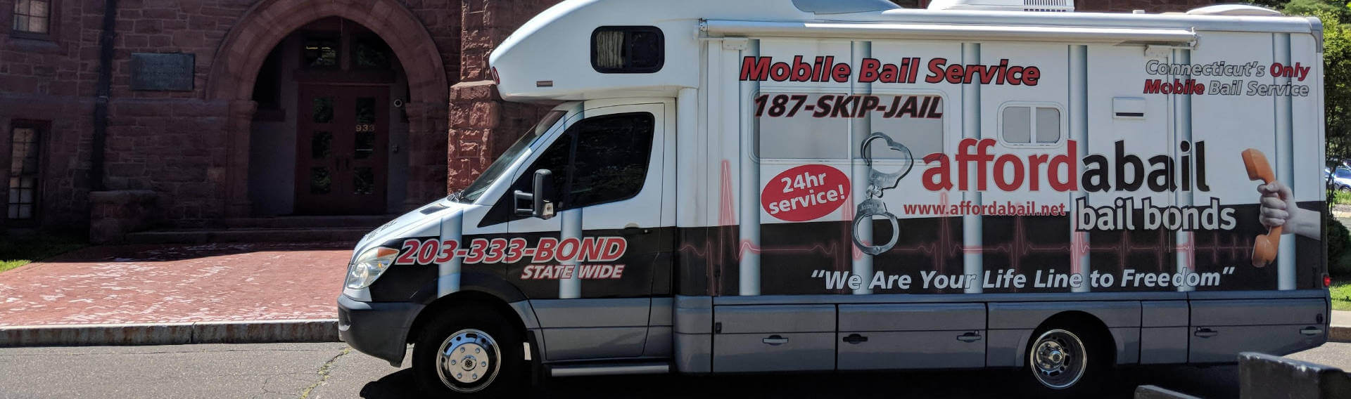 Mobile bail bonds service in Naugatuck CT