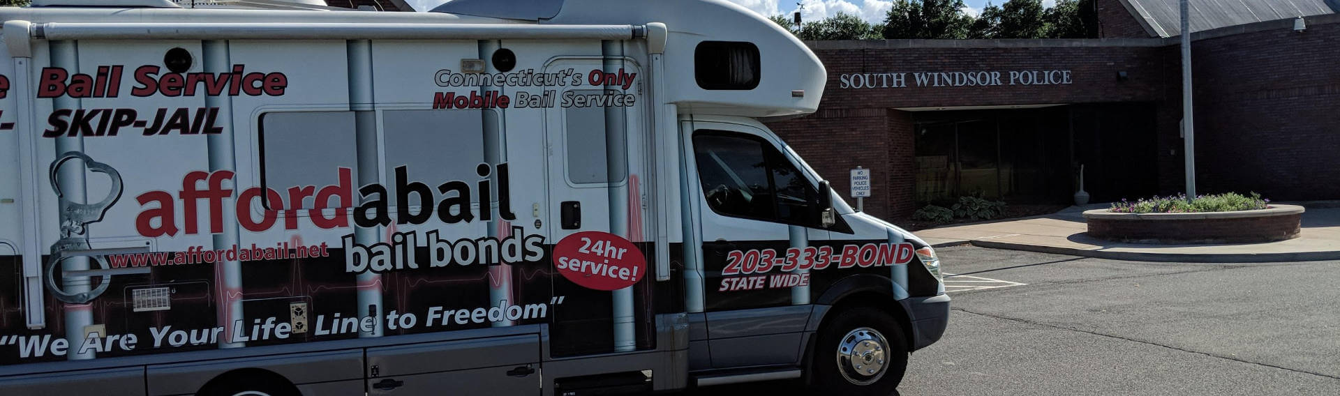 Mobile bail bonds service in South Windsor, CT