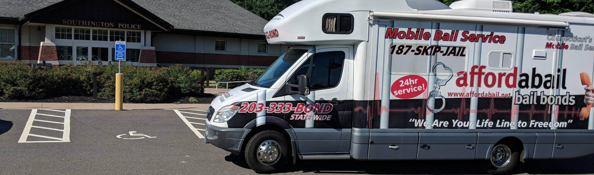 Mobile bail bonds service in Southington, CT