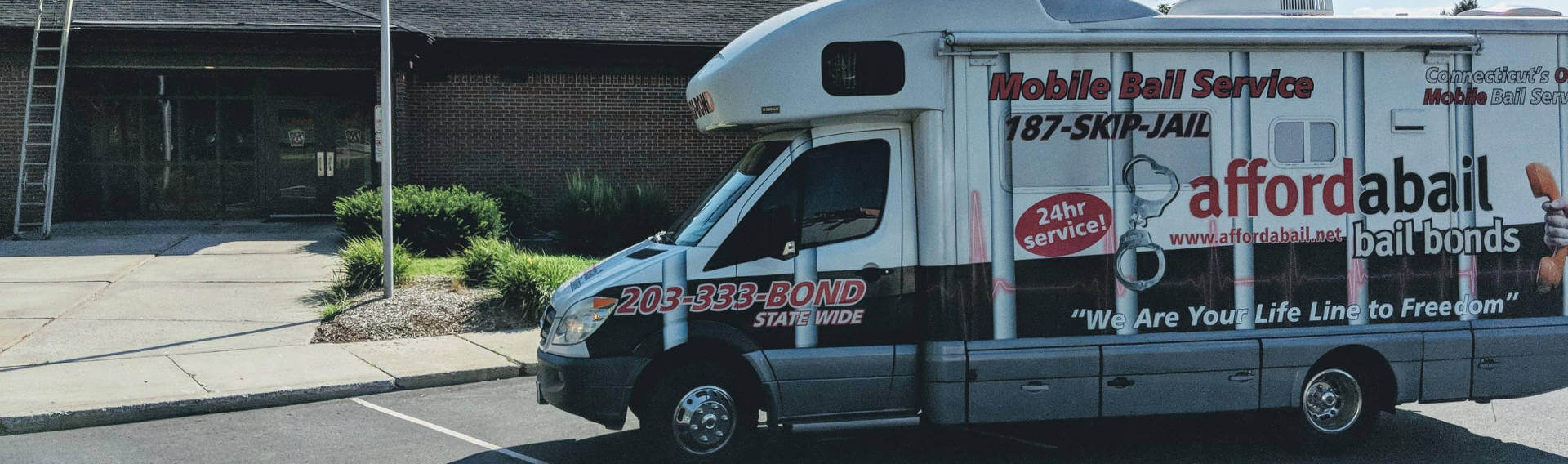 Mobile bail bonds service in Vernon, CT