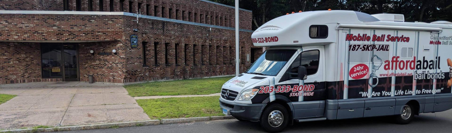 Mobile bail bonds service in Windsor Locks, CT