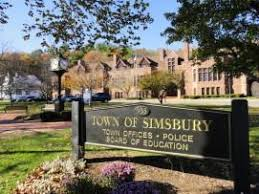 Simsbury CT probate court and police department
